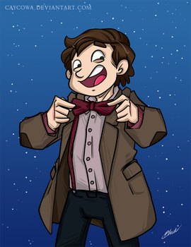 Doctor Who - Eleventh Doctor by caycowa