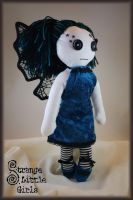 Gothic faerie doll by Strange-Little-Girls