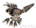 sparrow tattoo design by Todrey