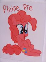Pinkie Pie Canvas Painting by catz537