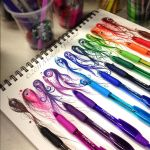 Rainbow Pen Set by artisticalshell