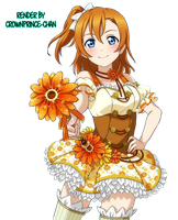 [RENDER] Kousaka Honoka #261 (Love Live) by crownprince-chan