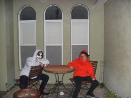 Jeff the Killer and Kenny McCormick by XxXEmilyMalfoyXxX