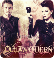 OutLaw Queen - Regina and Robin - Once Upon a Time by NeburArt
