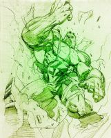 Hulk the STRONGEST by jonathan-rector