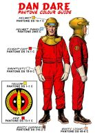 Dan Dare design sheet 2 by westonfront