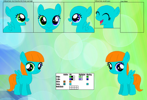 Mute's Official Reference Sheet by Starlollipop