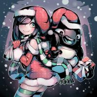 The Crawling City - Christmas Time by Parororo