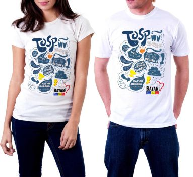 Doodle Shirt Design for TOSP (on shirt models) by flyingblind