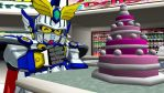 MMD Zero, Cake and 5 Minutes Later +model update by blazeraptor