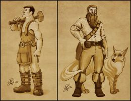 We are Manly Men by thundercake