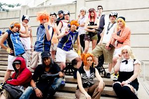 The World Ends With You Group by Cloudsurf