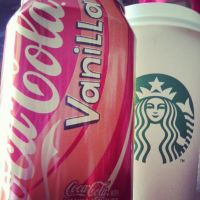 Starbucks and Vanilla Cola~ by LadyEdile