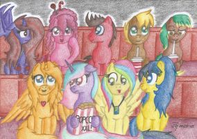 Special Gift Project #1 ~ Brony Cinema by Florie-Primrose