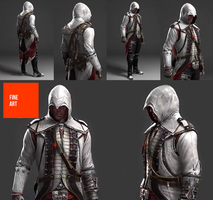 Assassin's Creed III Early Connor Concept Sep 2010 by DOM098652