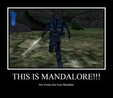 THIS IS MANDALORE by Starwarsclub123