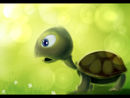 .:Tortoise:. by bubblesfish