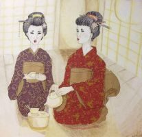 Tea Ceremony by Kelly-ART