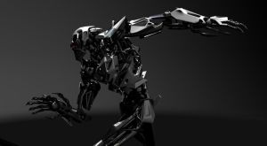 Cylon concept early test pose by zeustoves