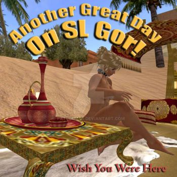 Another Great Day On SL Gor Wish You Were Here by patpowers
