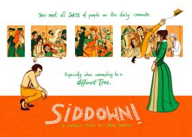 Siddown! Graphic Novel Poster by Lycorisu