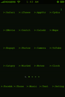 iPhone Apple II Theme by Angelman8