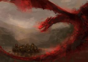 Smaug 2 by ladynlmda
