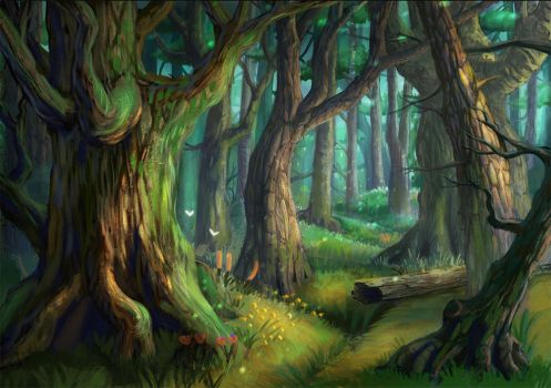 Forest by MooonRiver
