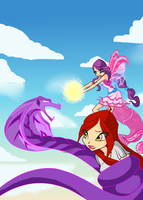 Winx: A drop of Light by DragonShinyFlame