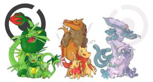 Starters of the 5th Gen. by Hallm3