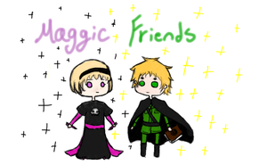 Magic Friends by BlueEmperorButterfly