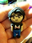 Markiplier clay chibi by TashaAkaTachi