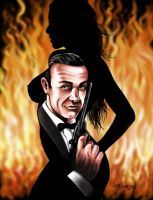 the REAL James Bond by LabrenzInk
