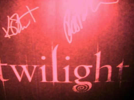 Twilight Autograph by cantdecode