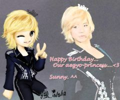 lately for sunny SNSD by tsuyochii