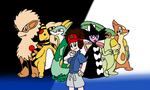My Pokemon Black 2 team by Klonoahedgehog