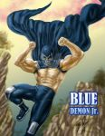 Legado Blue Demon jr by ArtBennyRGrau