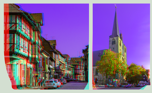 Quedlinburg Medley I ::: Anaglyph HDR-3D by zour