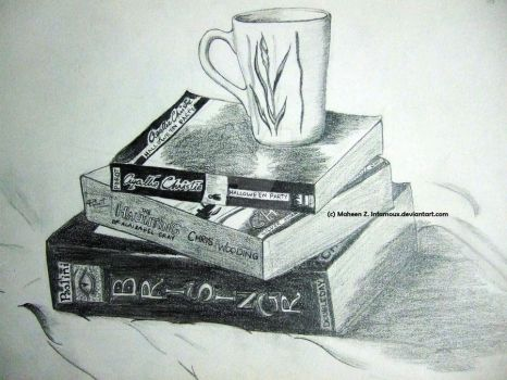 Still Life - Books by Infamoux
