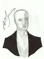 Phantom Sketch (Signed by Norm Lewis) by NOTEBLUE13