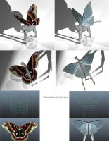 FH Ideas- Butterfly Moth Wings by nekonotaishou