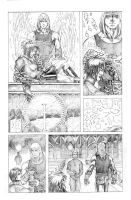 Eternal Descent - pg14 pencils by JMan-3H