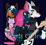 Hearts Of Ice CD Case by KendraTheShinyEevee