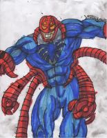 Spidey from the year 2211 by ChahlesXavier