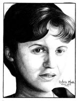 Sylvia Plath by trephinate