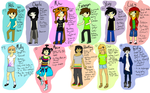 Humanized pets by Cerulean-Swirls