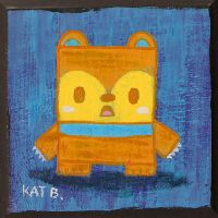 Shocked Square Bear by fuish