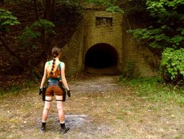 Lara Croft cosplay - entry by TanyaCroft