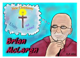 False Preacher: Brian McLaren by ArtNGame215