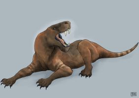 Sauroctonus by ExIllustrated